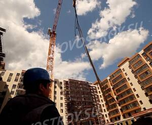 ЖК «Пироговская  ривьера»: ход строительства (фото из группы «Вконтакте»)