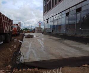 ЖК «Ленинградский»: ход строительства корпуса 1