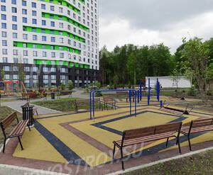 ЖК «Wellton Park Новая Сходня»: придомовая территория