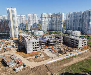 ЖК «Красная Горка» (Люберцы): ход строительства школы