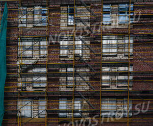 ЖК «Vander Park»: фасадные работы