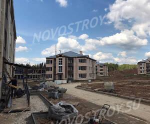 Малоэтажный ЖК «Борисоглебское»: ход строительства (фото из группы «Вконтакте»)