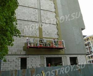 ЖК «Центральный» (Звенигород): утепление фасада дома 1