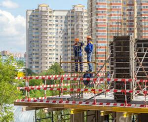 ЖК «Оранж Парк»: ход строительства корпуса 5