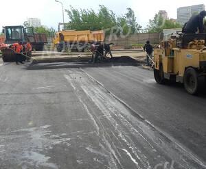 МФК «ТехноПарк»: асфальтирование внутриквартальных дорог