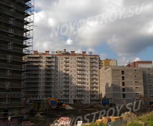ЖК «Ландыши»: ход строительства корпуса 1 из группы Вконтакте