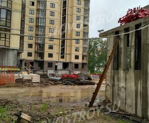 ЖК «Горизонт» (Щелково): придомовая территория (фото из группы «Вконтакте»)