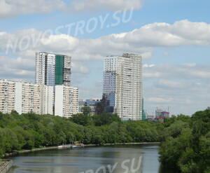 ЖК «Утёсов»: вид с Москвы-реки
