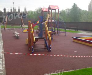ЖК «О7»: детская площадка на территории комплекса