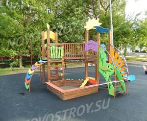 ЖК «Клубный дом на Таганке»: детская площадка на территории комплекса