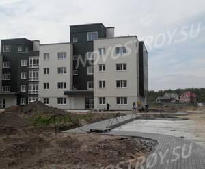 Малоэтажный ЖК «Болтино»: ход строительства корпуса 1.2