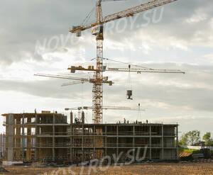 ЖК «Ильинские луга»: ход строительства корпуса 40