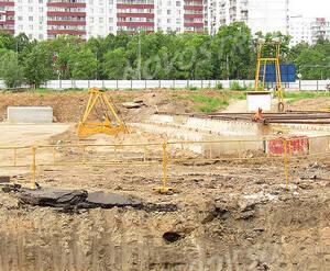 ЖК «Орехово-Борисово»: подготовка котлована
