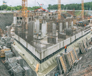 МФК «Спутник»: ход строительства (фото из группы «Вконтакте»)