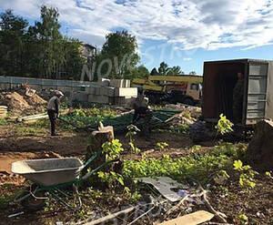 ЖК «Полёт» (Щёлково): строительная площадка