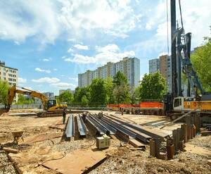 ЖК «Дом в Кусково»: строительная площадка