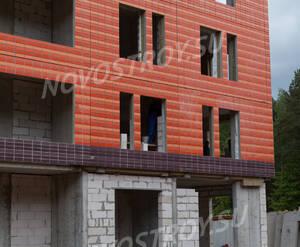 ЖК «Саларьево Парк»: фрагмент фасада корпуса 8
