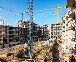 ЖК «Город-событие «Лайково»: ход строительства дома 17