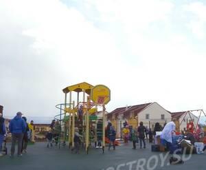 Малоэтажный ЖК «Кивеннапа Юг»: детская площадка