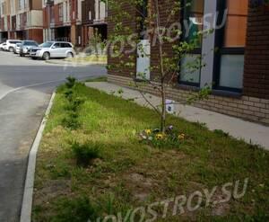 Малоэтажный ЖК «Андерсен»: благоустройство придомовой территории (фото из группы «Вконтакте»)