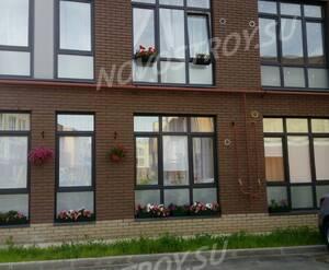 Малоэтажный ЖК «Андерсен»: фрагмент фасада (фото из группы «Вконтакте»)