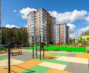 ЖК «Мелодия леса»: детская площадка на территории комплекса