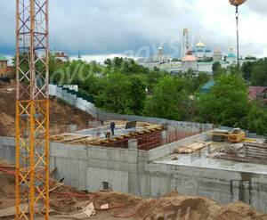 Малоэтажный ЖК «Донской» (Сергиев-Посад): ход строительства корпуса 3