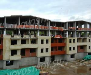 Малоэтажный ЖК «Донской» (Сергиев-Посад): ход строительства корпуса 5