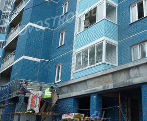 ЖК «Королёв»: работы по отделке фасада