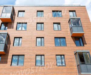 ЖК «Май»: фрагмент фасада (фото из группы «Вконтакте»)