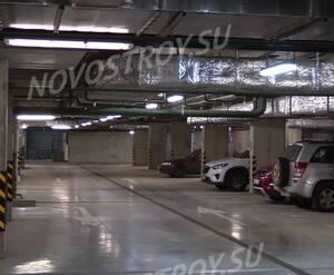 ЖК «Микрогород «В лесу»: подземный паркинг на территории комплекса (фото из группы «Вконтакте»)