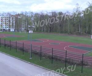 ЖК «Микрогород «В лесу»: спортивные площадки на территории комплекса (фото из группы «Вконтакте»)