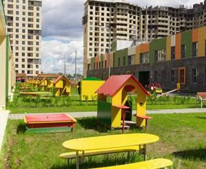 ЖК «Новое Медведково»: детская площадка на территории комплекса (фото из группы «Вконтакте»)
