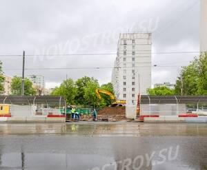 ЖК «The Mostman»: строительная площадка