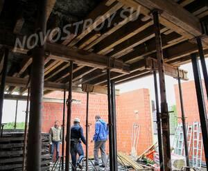 Малоэтажный ЖК «Veda Village»: ход строительства корпуса 3 из группы Вконтакте