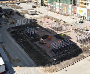 ЖК «GreenЛандия 2»: ход строительства корпуса 1