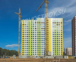 ЖК «Путилково»: ход строительства корпуса 1
