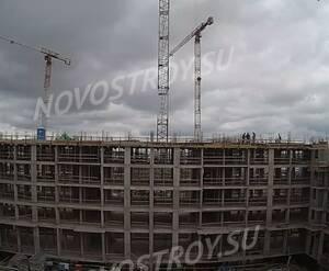 ЖК «Испанские кварталы»: ход строительства корпуса 6.1