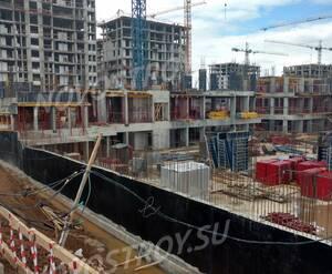 ЖК «Испанские кварталы»: ход строительства корпуса 14.3