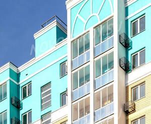 ЖК «Видный берег»: фрагмент фасада (фото из группы «Вконтакте»)