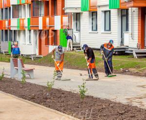ЖК «Май»: благоустройство придомовой территории (фото из группы «Вконтакте»)