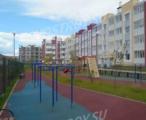 Малоэтажный ЖК «Нахабино Ясное»: детская площадка на территории комплекса