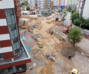 ЖК «Ленинградский»: благоустройство придомовой территории