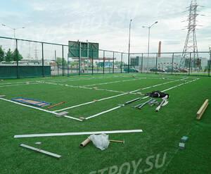 ЖК «Wellton Park Новая Сходня»: спортивная площадка на территории комплекса