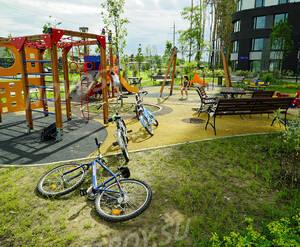 ЖК «Wellton Park Новая Сходня»: детская площадка на территории комплекса