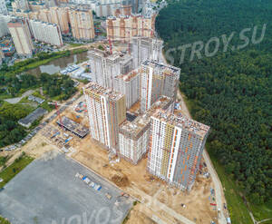 ЖК «Оранж Парк»: ход строительства