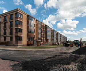 Малоэтажный ЖК «Чистый ручей»: ход строительства корпуса 1