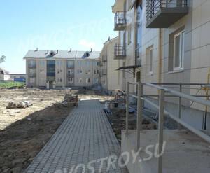 Малоэтажный ЖК «Солнечный квартет»: ход строительства корпуса 8