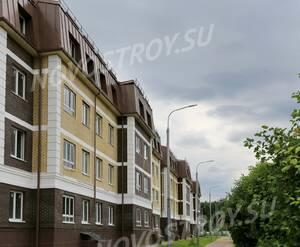 Малоэтажный ЖК «Театральный парк»: ход строительства корпуса 1