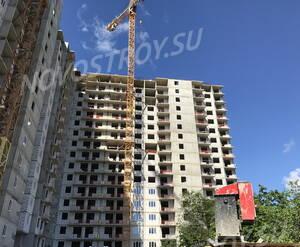 ЖК «Андреевка»: ход строительства секций 1, 2